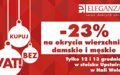 Rabat 23% w Salonie Eleganza
